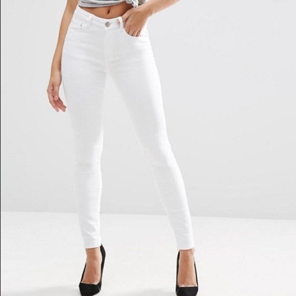 842f23428850 ASOS Pants   Clearance High Waisted Skinny Jeans   Poshmark